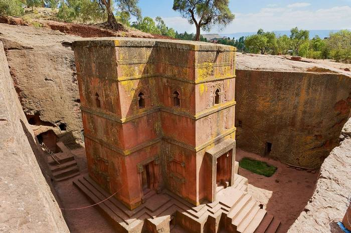 Ethiopia, Lalibela. Monolithic Church Of Saint George Shutterstock 313240118