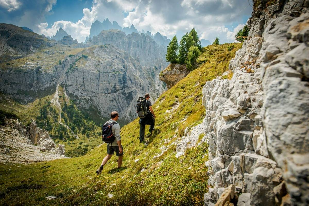 Dolomites Trail Hikers