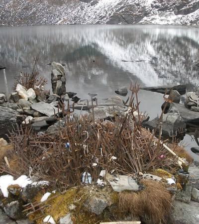 Panch Pokhari lakes