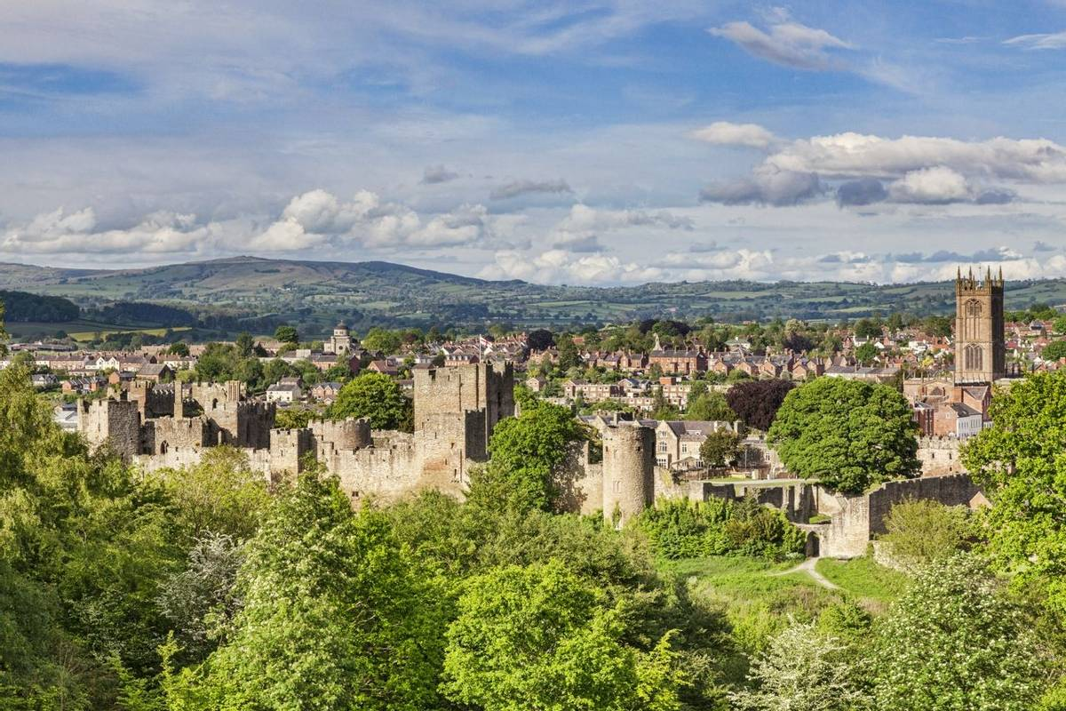 Ludlow Castle and Town, Shropshire