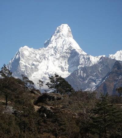 Ama Dablam Base Camp in Nepal