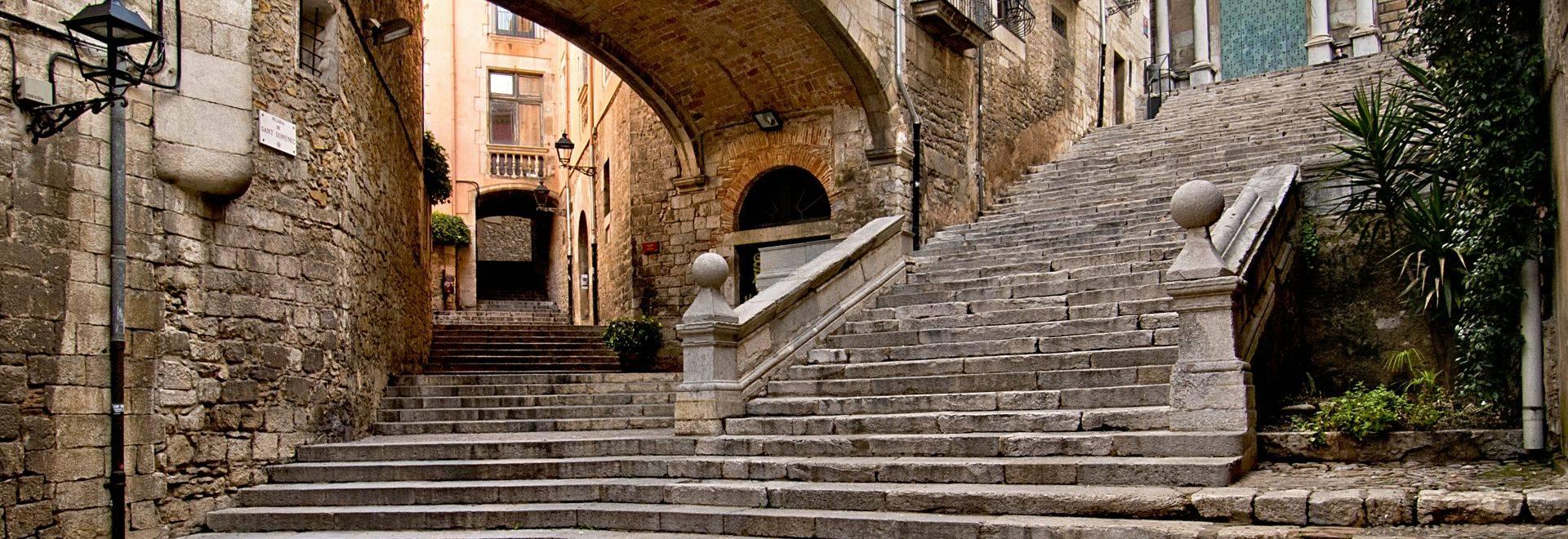Girona, medieval streets