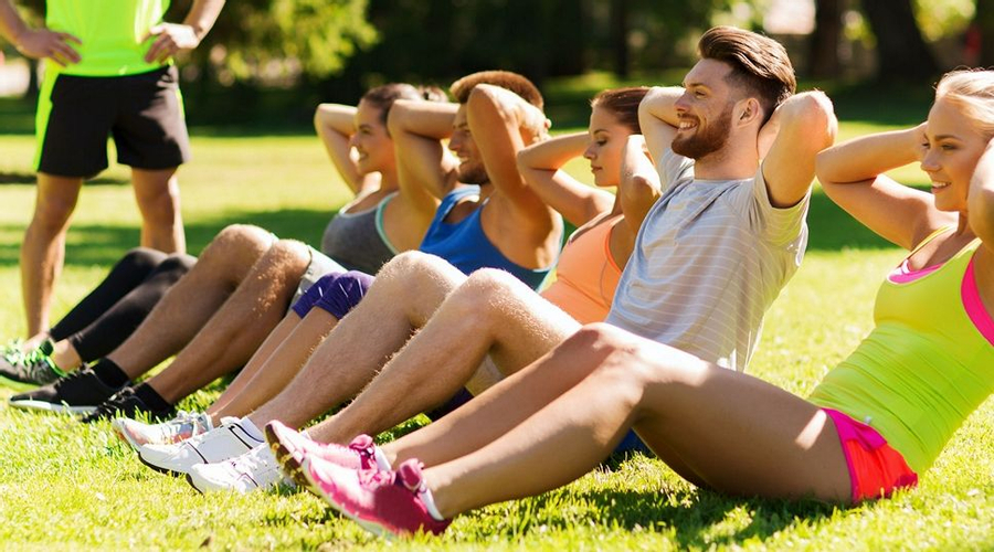 Fitness Class at Longevity