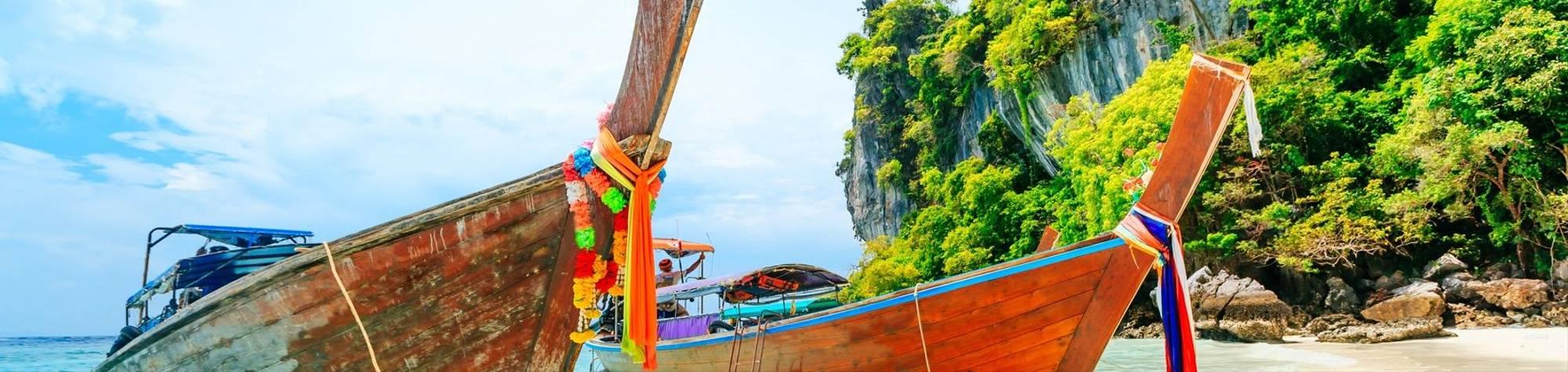 Longtail Boats in Phuket