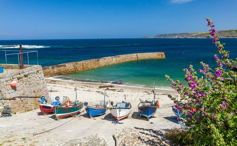 Sennen Cove Harbour Cornwall