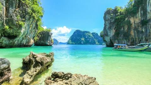 Lao Lading island, Paradise island, Koh Hong Island, Krabi, Thailand, Travel To Thailand