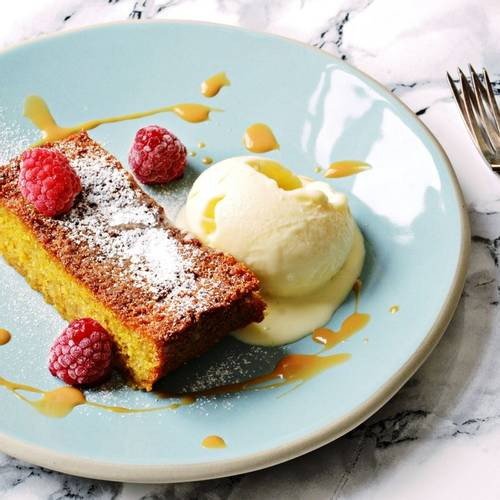 Recipes from our Chefs - Sicilian Orange Polenta Cake