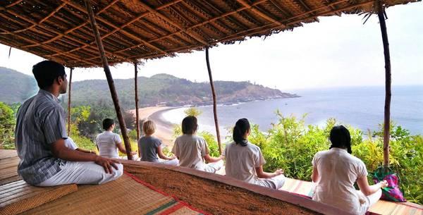 swa swara outdoor meditation
