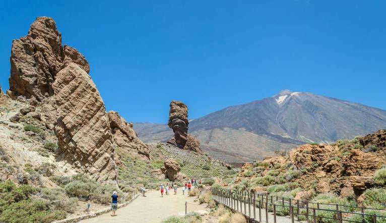 Shutterstock 254427259 Views Of Mount Teide And Volcanic Formations