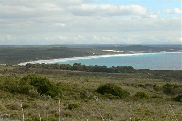 View from above Cheynes Beach (Peter Taylor)