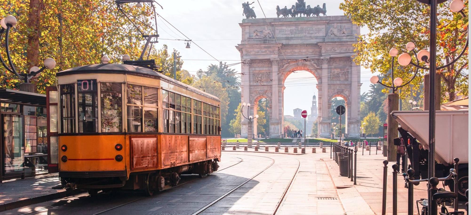Milan   Tram In Streets   Itinerary Desktop