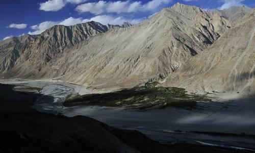 Nubra and Shyok Valley