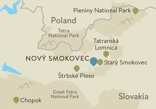 Slovakia Itinerary Map