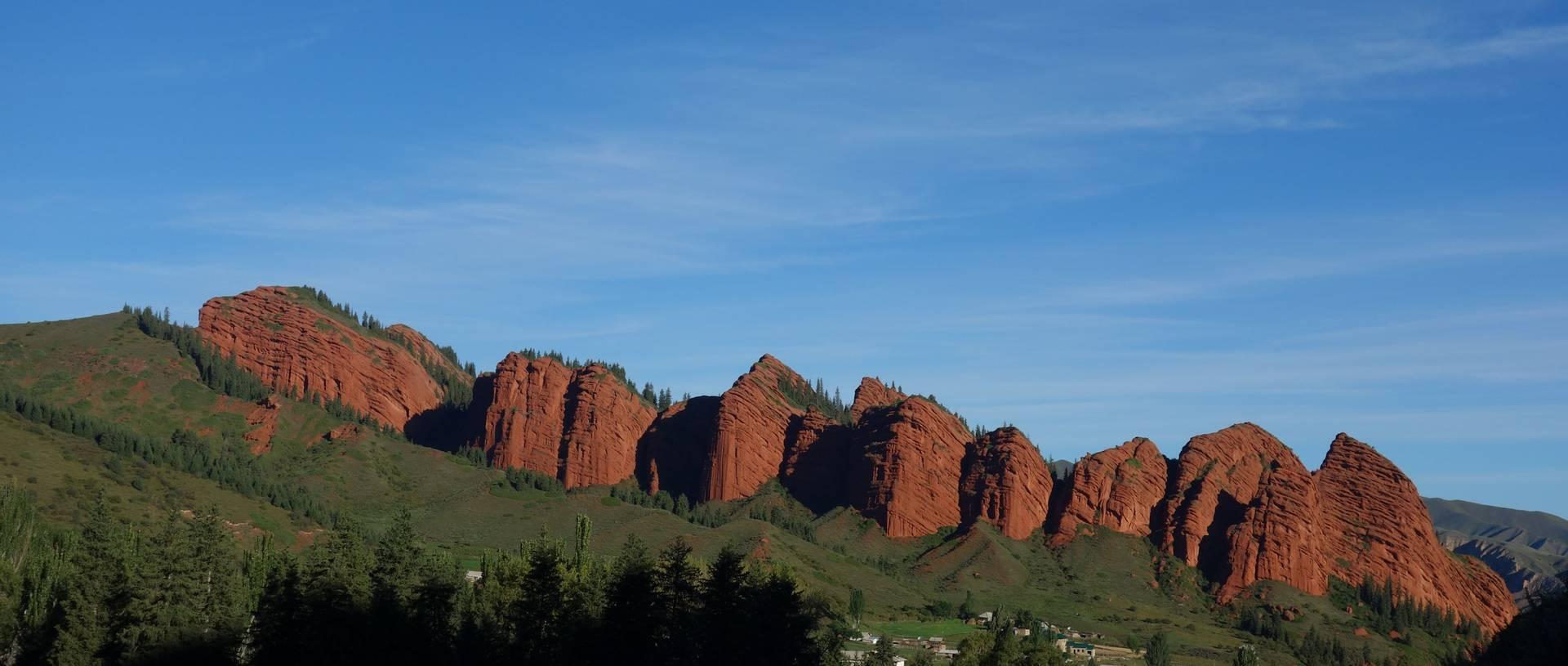 Jeti Orguz And The 7 Bull Rocks