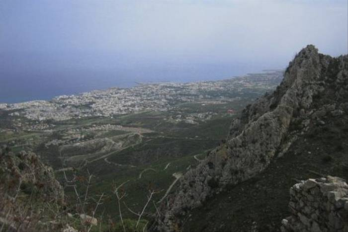 View back to Kyrenia (Andy Harding)