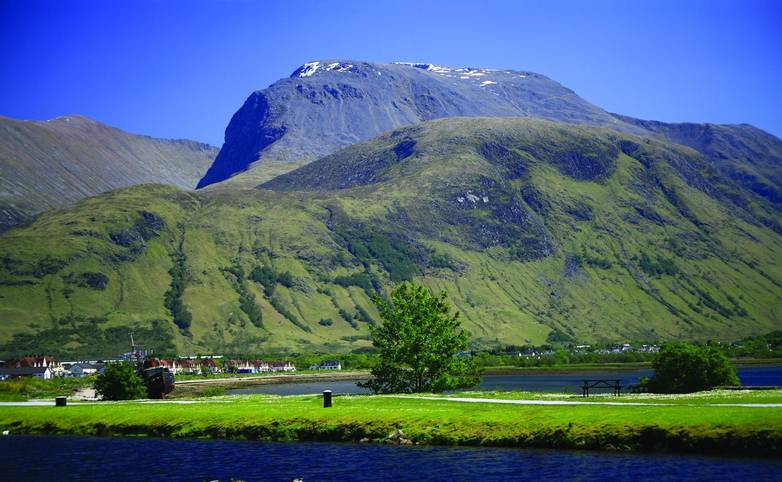 Ben Nevis from Corpach, Lochaber, Scotland
