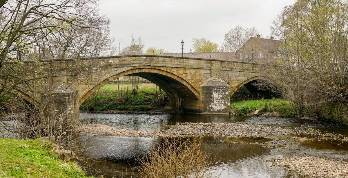 Pateley Bridge Nidderdale near Harrogate, Yorkshire, United Kingdom