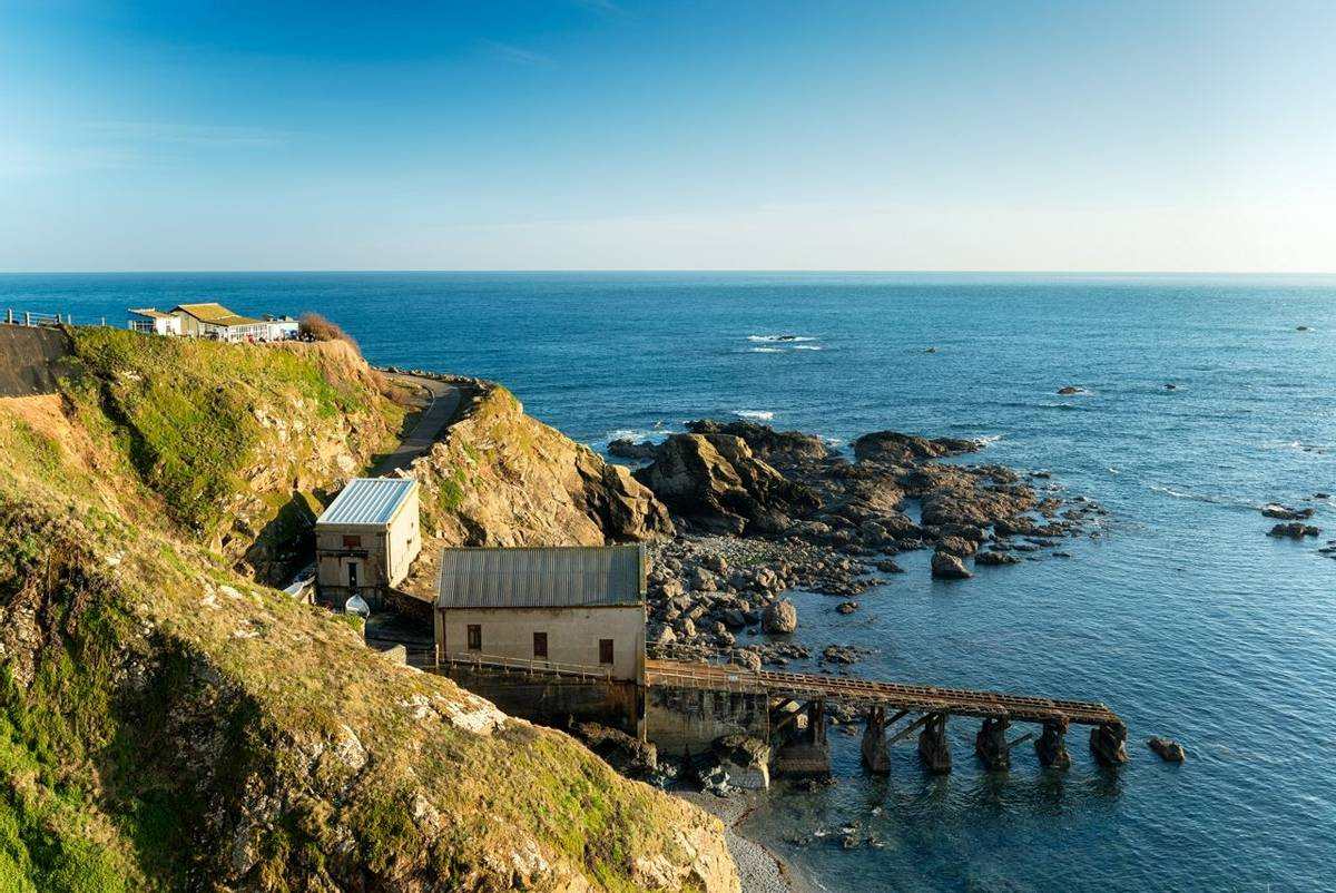 Lizard Point in Cornwall the most southerly tip of Britain