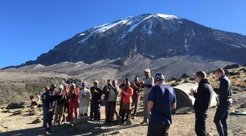 CLIMB KILIMANJARO (7 days) Marangu Route