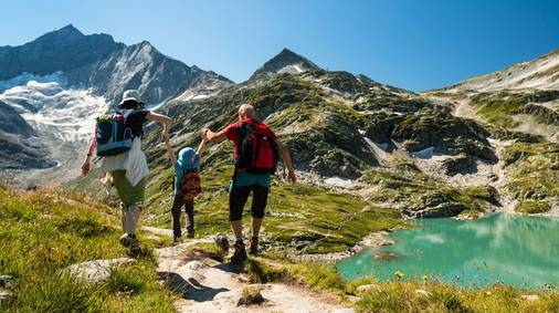 Zillertal Alps Family Walking Adventure