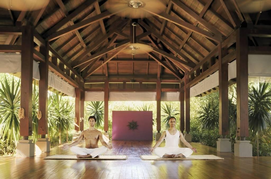 Meditation at Shanti Maurice