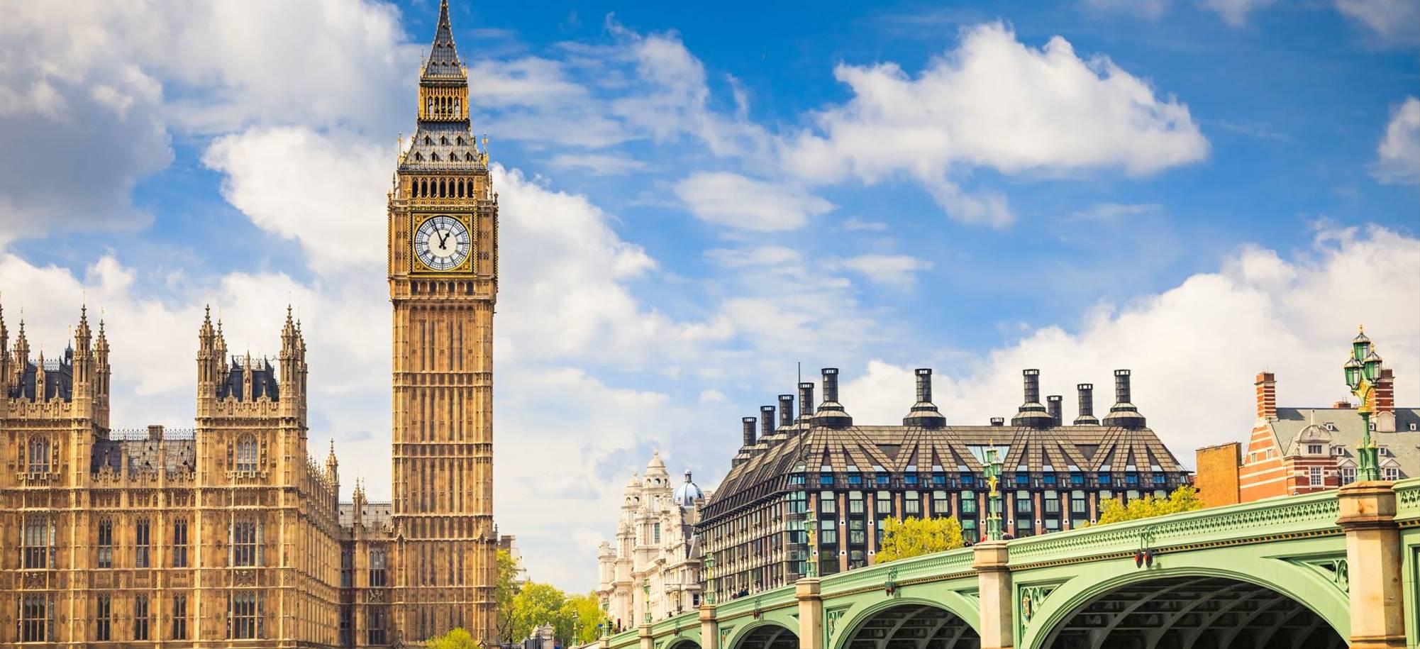 London   Big Ben And Westminter Bridge   Itinerary Desktop