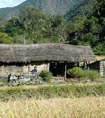 Near Macha Khola (930m)