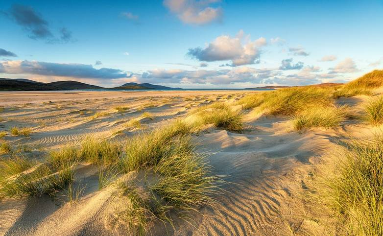 Luskentyre Beach in the Hebrides