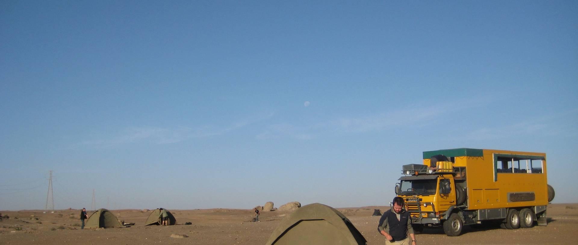 Sudanese Desert Camp