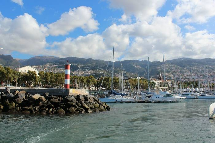 Funchal Harbour, Madeira (Sue Hill)