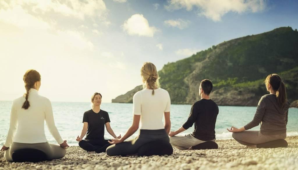 meditation at Sha
