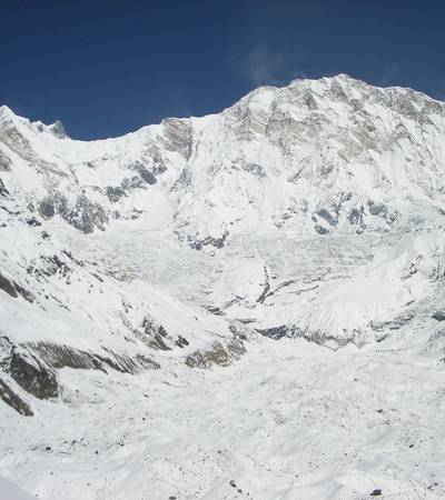South face of Mt Annapurna