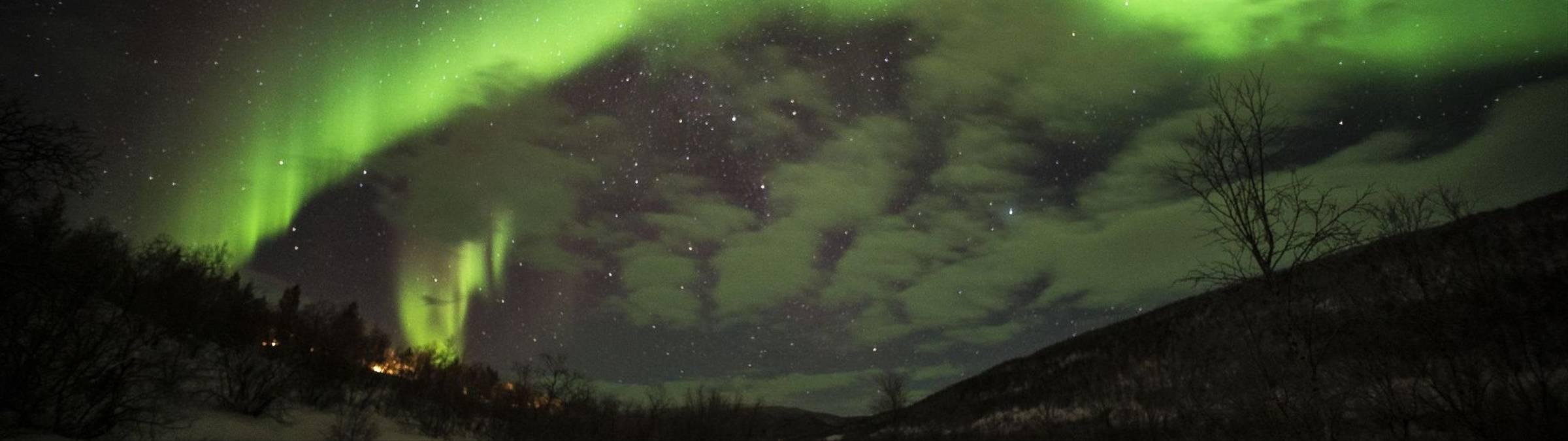 2016, Credit:: Klaus-Peter Kappest, February, Holiday Village Valle, Northern Lights, Utsjoki