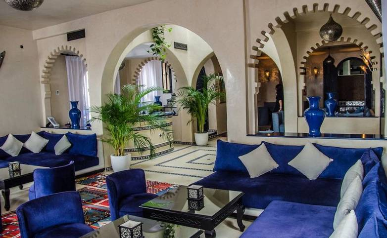 Morocco - Ryad Lina Chefchaouen - Lounge - Agent.jpg