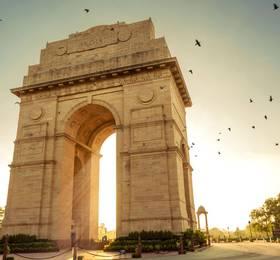 Arrival in New Delhi