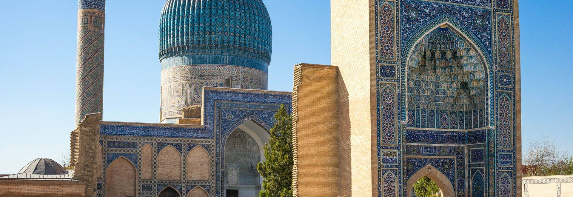 Dreamstime M 64334230 Turquoise Domes In Samarkand