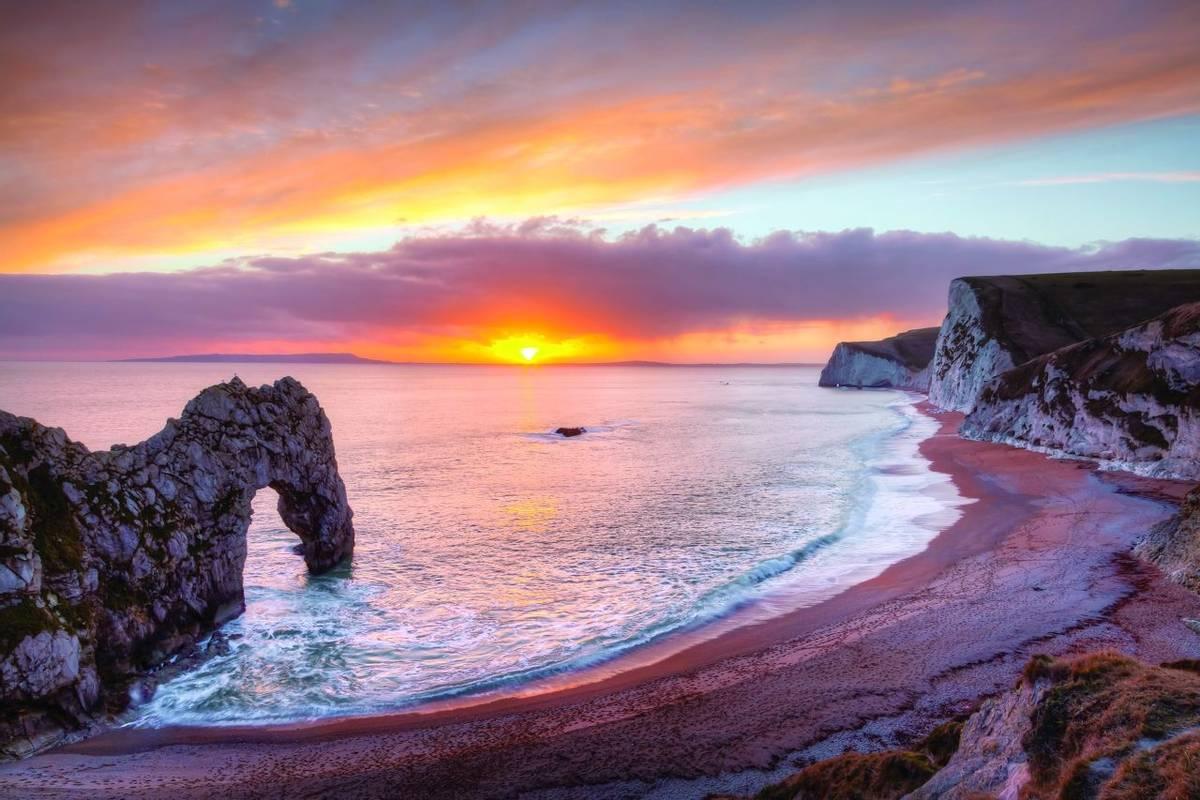 Durdle Door Dorset England
