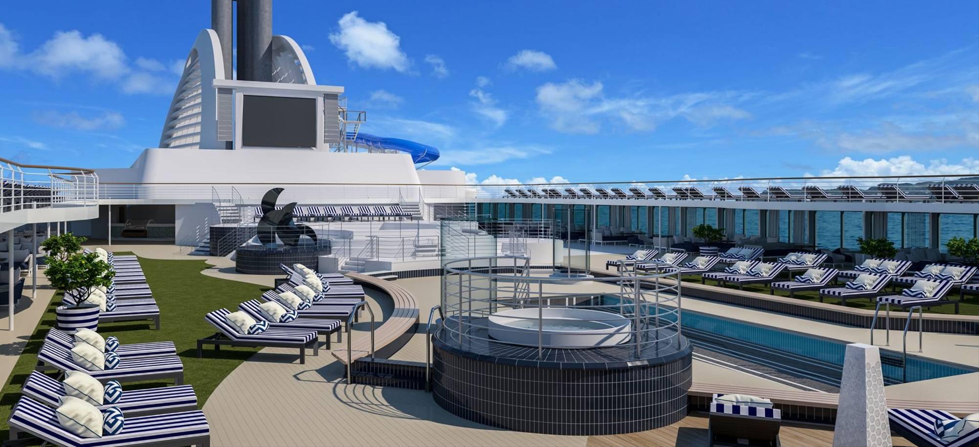 Explorer At Sea   Main Deck With Big Screen   Itinerary Desktop