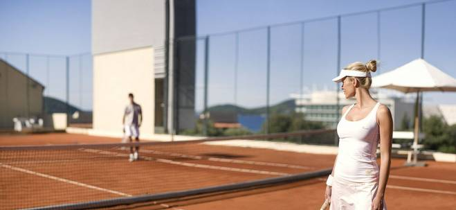 Tennis courst at The Oitavos