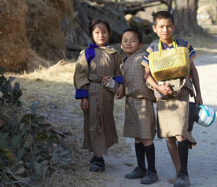 Local village children (Liz Seeber)