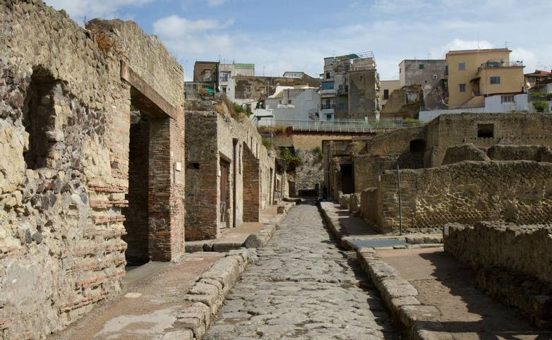 Ancient Street of Herculaneum