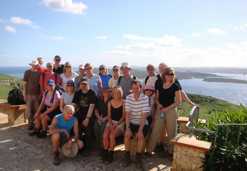 A group of Solos guests in Malta