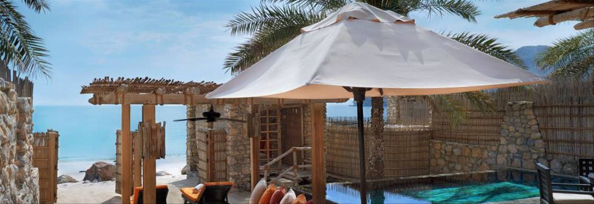 Zighy Bay Pool Villa Beachfront