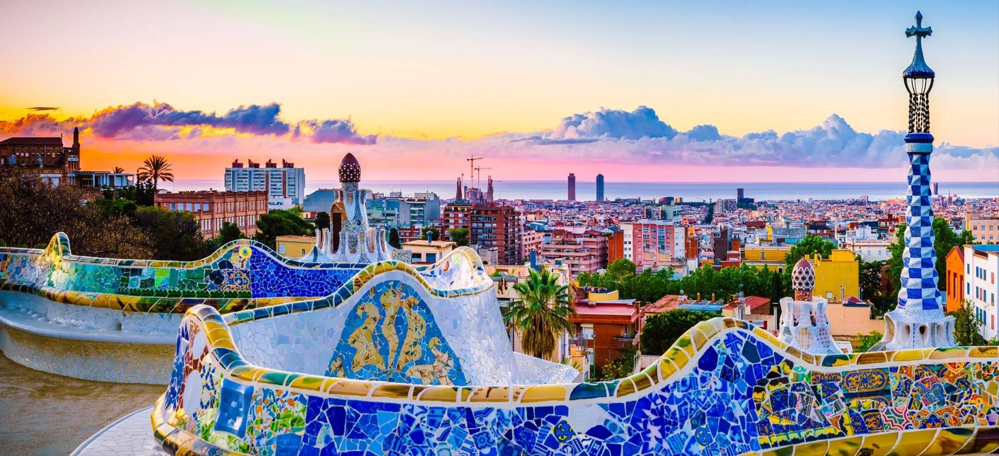 Itinerary Desktop Day 7 - Barcelona at sunrise viewed from park Guell, Spain.jpg