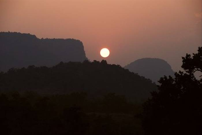 Bandhavgarh sunset (Graham Cutts)