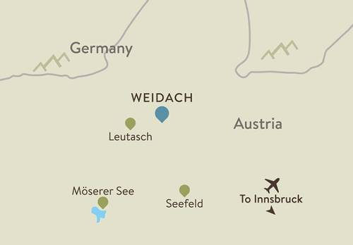 Seefeld Itinerary Map