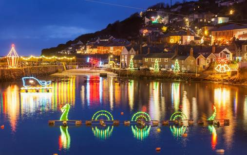 6-Night Cornwall Christmas & New Year Guided Walking Holiday