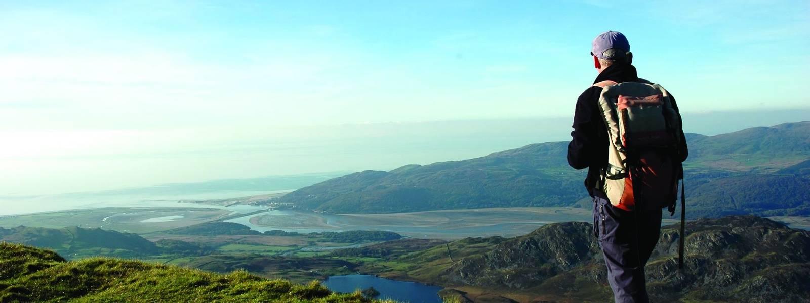 view from cadair idris