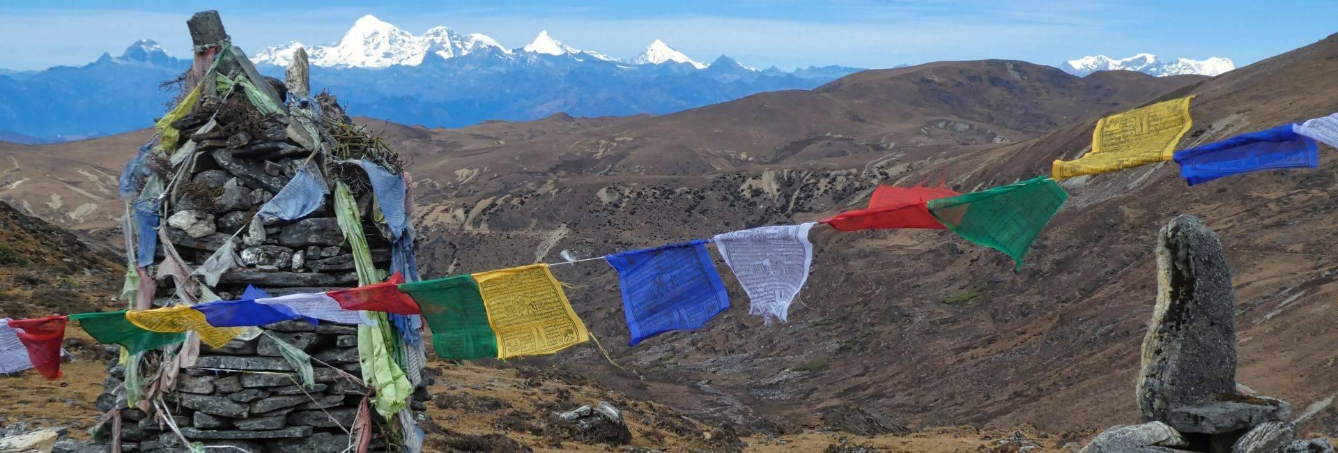 Dagana and Lawagu pass trek in Bhutan