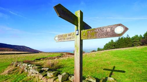 The Cleveland Way Guided Trail